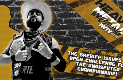 The Sheriff Issues Open Challenge!