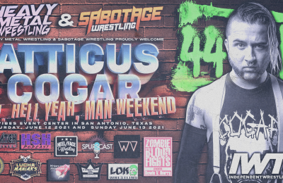 Atticus Cogar announced for MHYM Weekend!