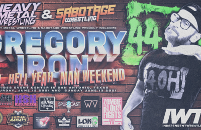 Gregory Iron scheduled for MHYM!